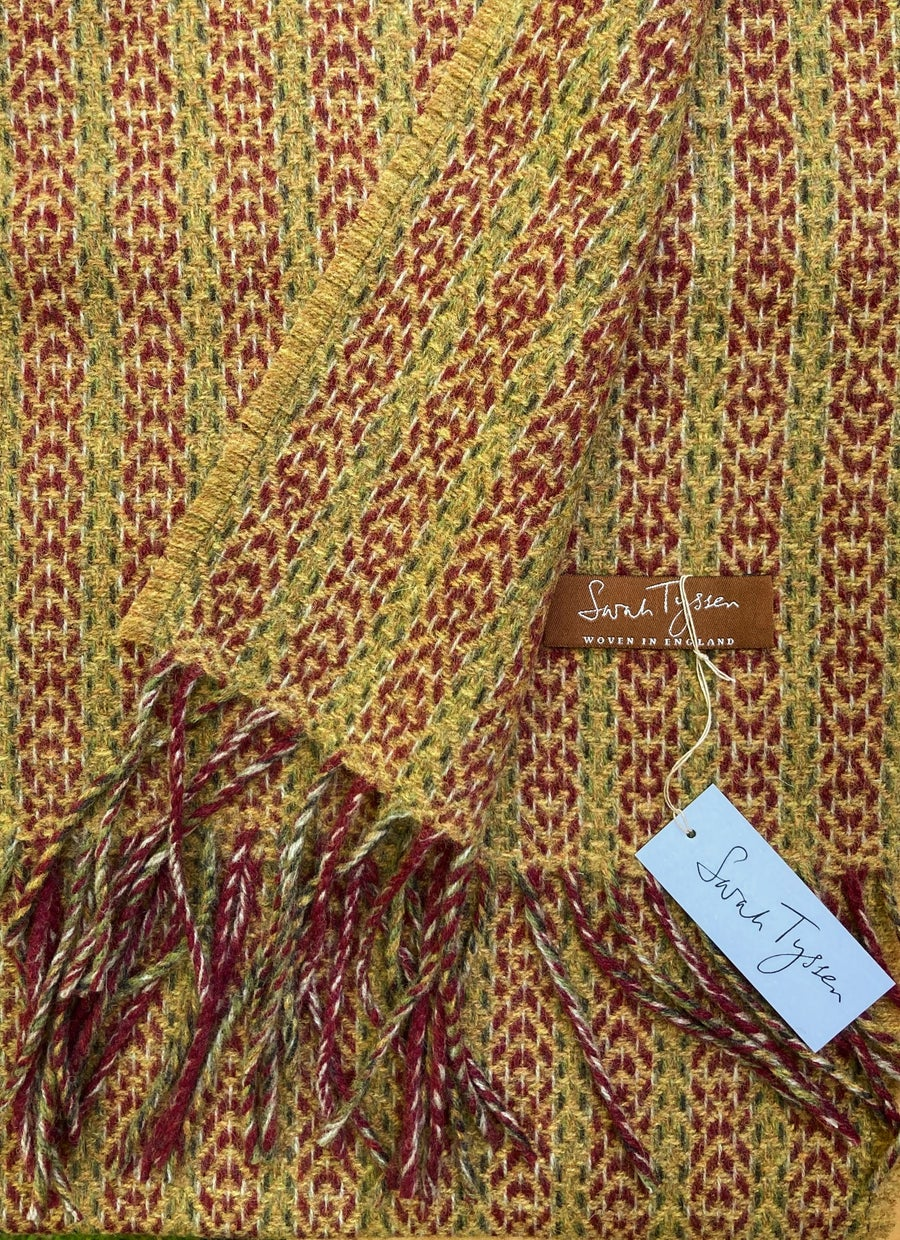 Image of Berry & Mead 'Deco Fan' scarf