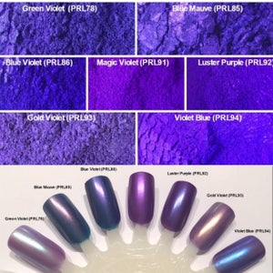 Image of Purple Pearl Pigments </p> 17 Colors Available