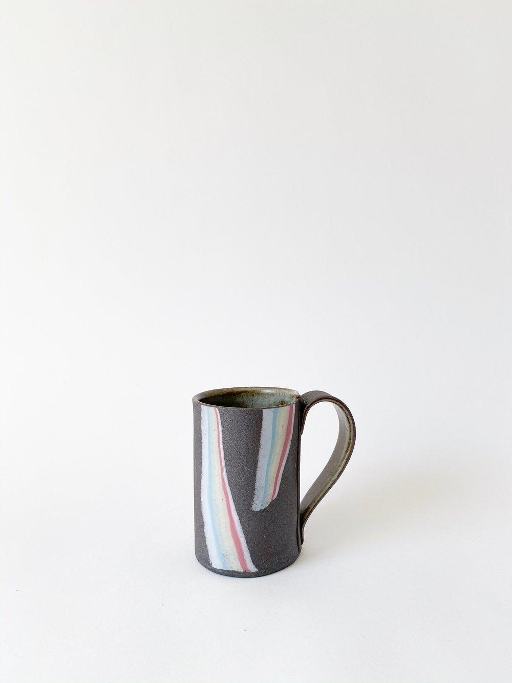 Image of Rainbow on Dark Sky - Tall Mug