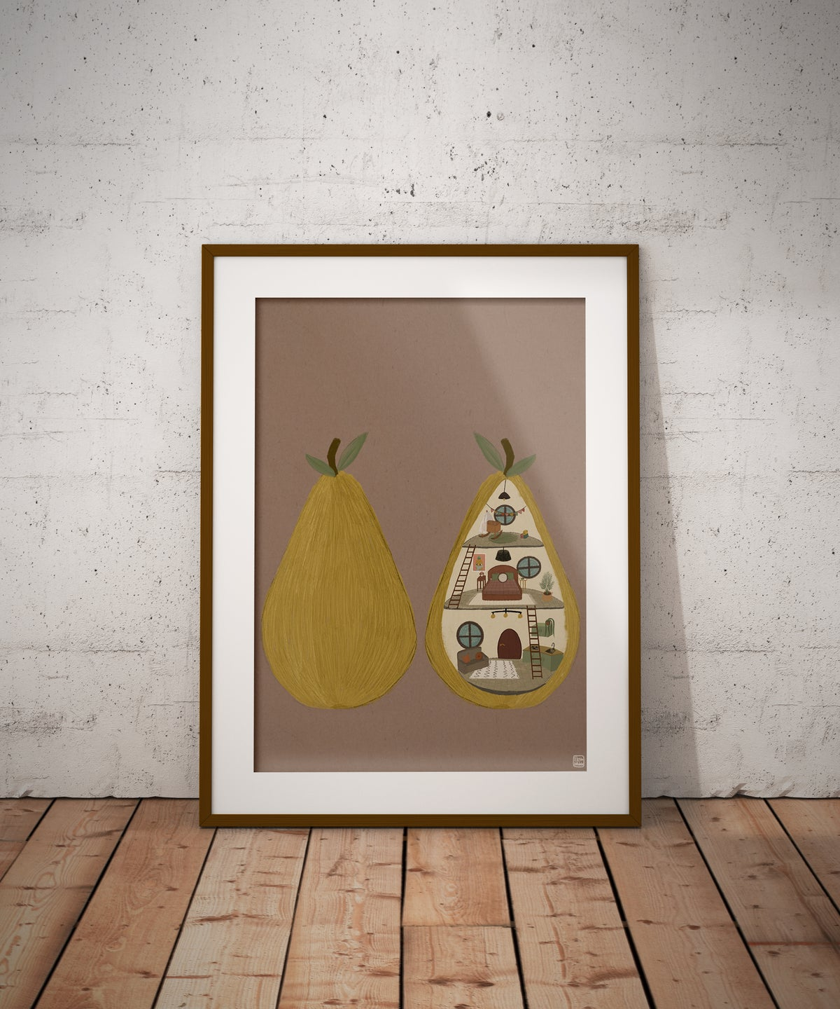 PEAR DOLL HOUSE
