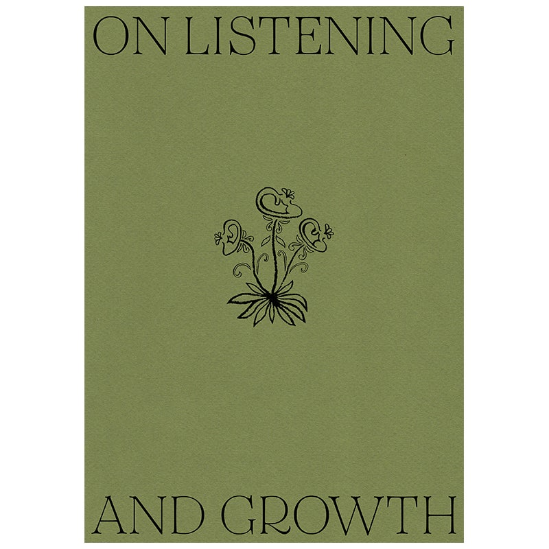 Image of On Listening and Growth