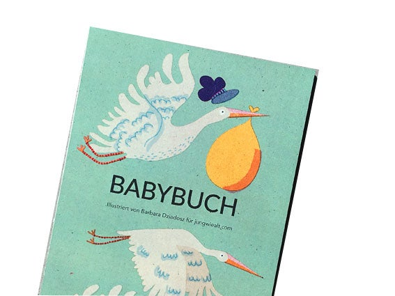 Image of ALBUM Babybuch