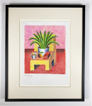 Image of Andy Rementer - Chair with aloe
