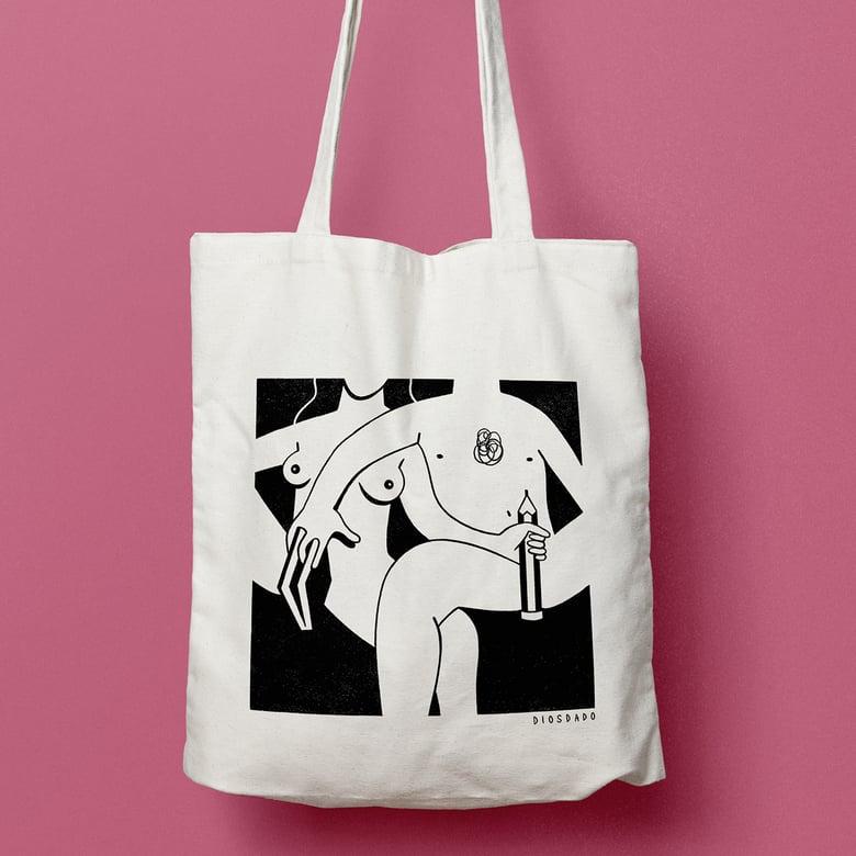 Image of Tote Bag Paja Mental
