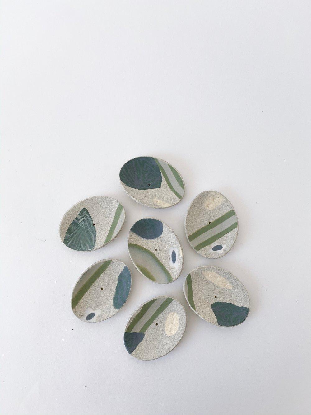 Image of Granite Garden - Incense Holder