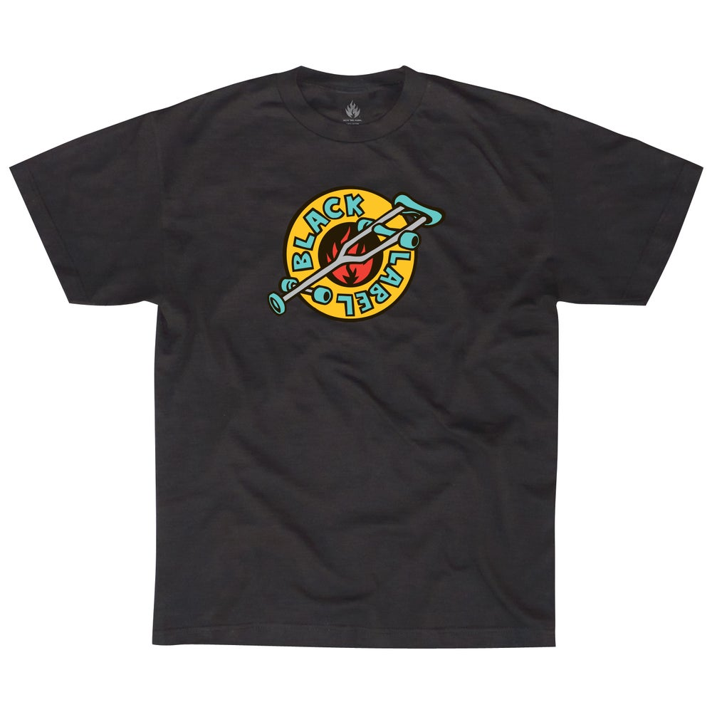 "Image of ""OG Crutch"" Short Sleeve Tee Black"