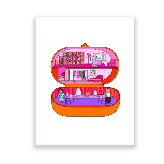 Image of Single Polly Pocket home prints
