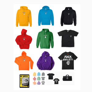 Image of BE HAPPY, F*CK ANXIETY E-BOOK PACKAGE