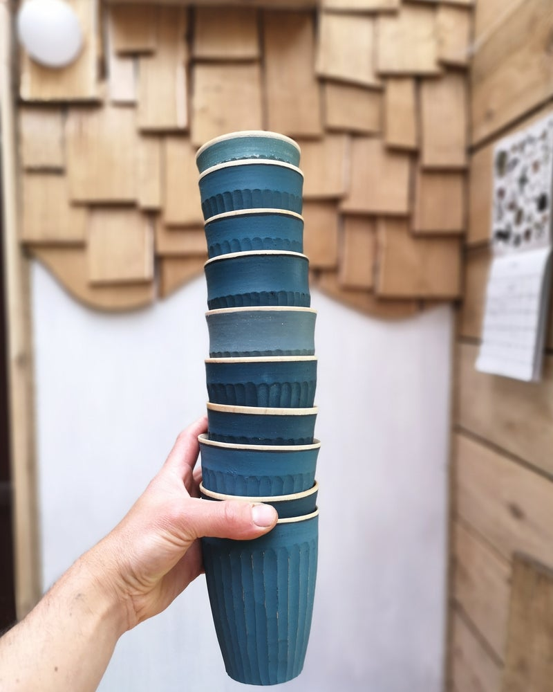 Image of Fluted cup pre-order
