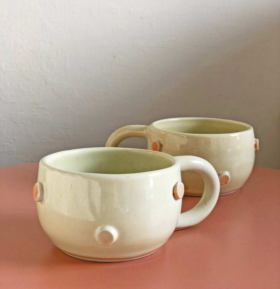 Image of Porcelain Mug / Yellow Salt