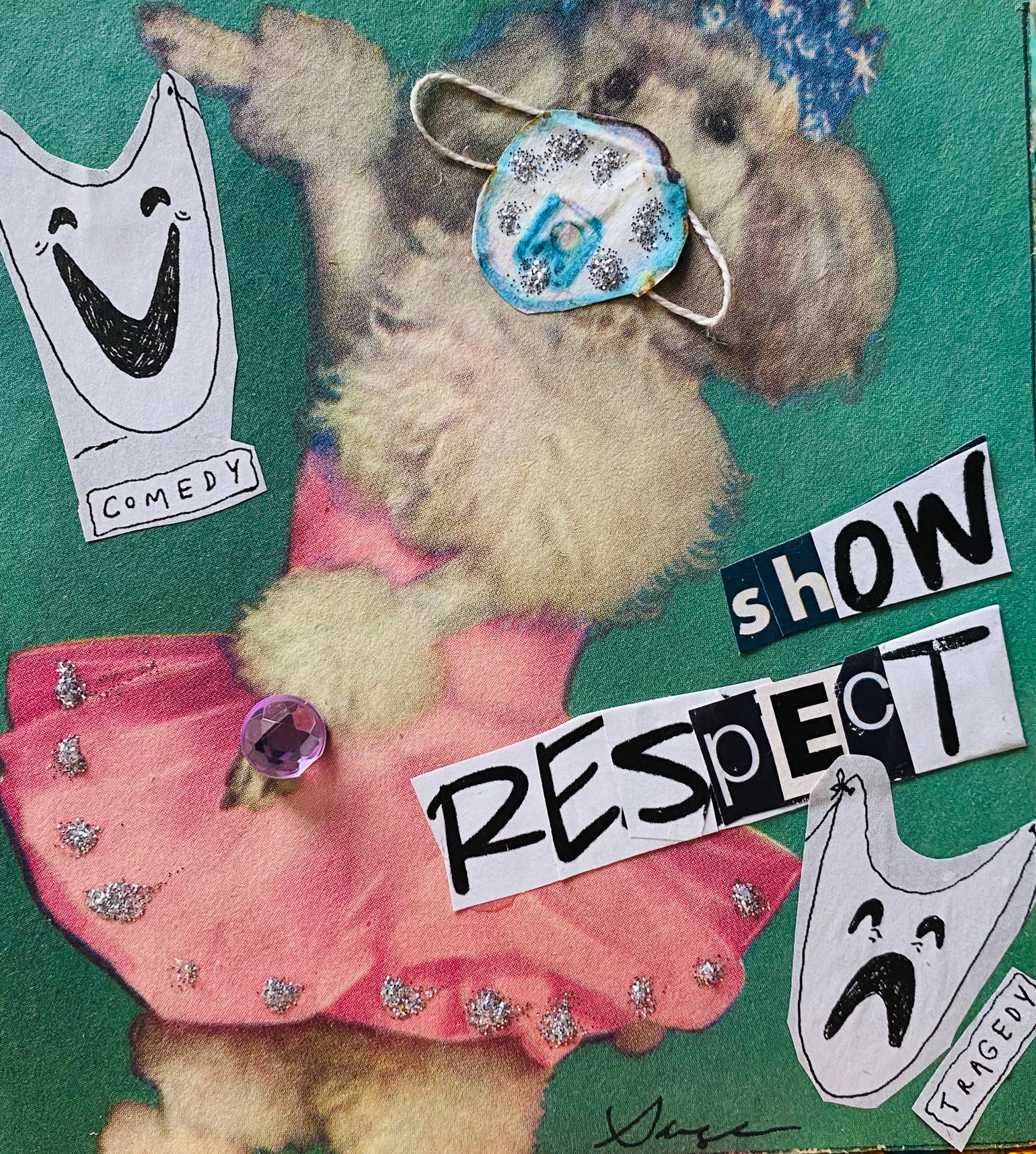 Image of show respect ballerina poodle