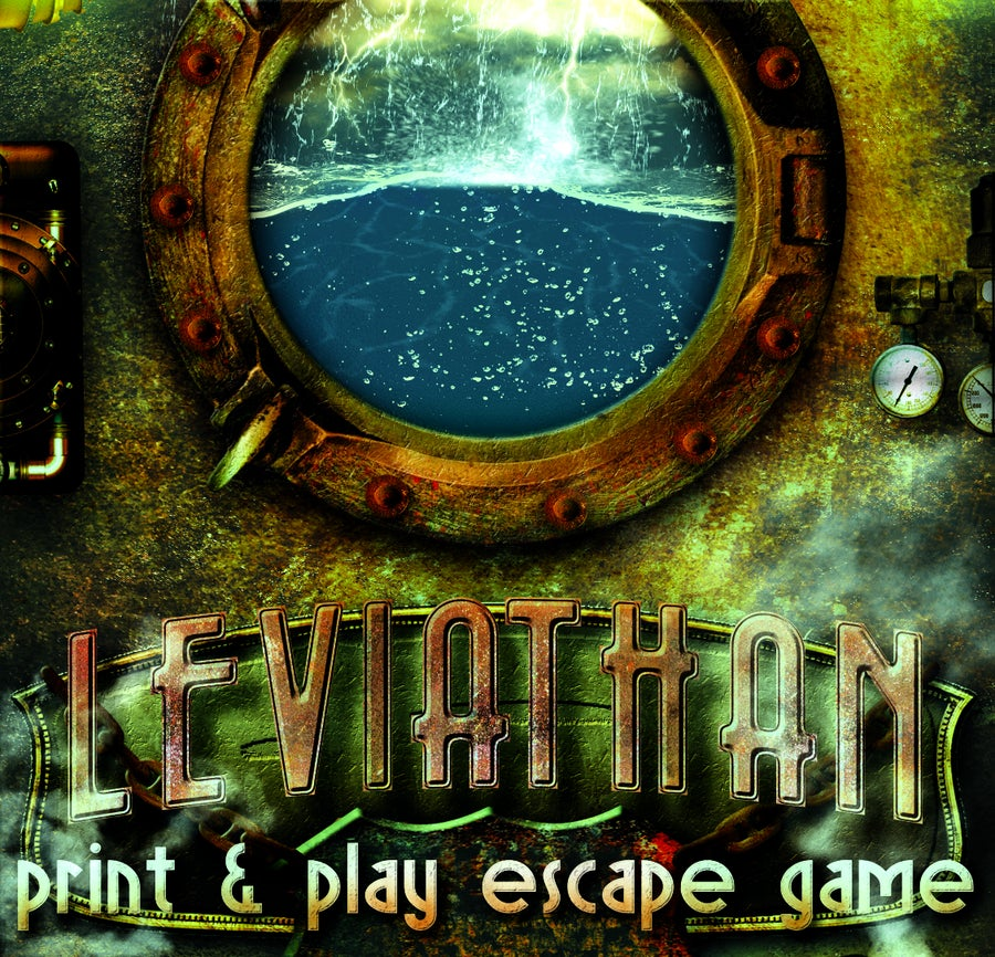 Image of Leviathan - Print & Play Escape Room Game