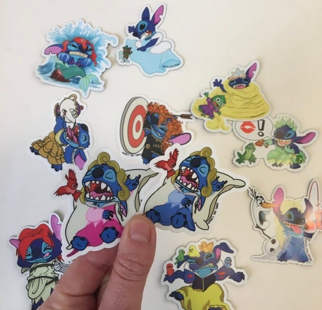 Image of Princess Stitch Stickers