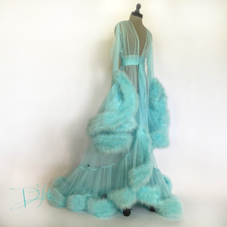 Image of Aqua Deluxe Cassandra Dressing Gown