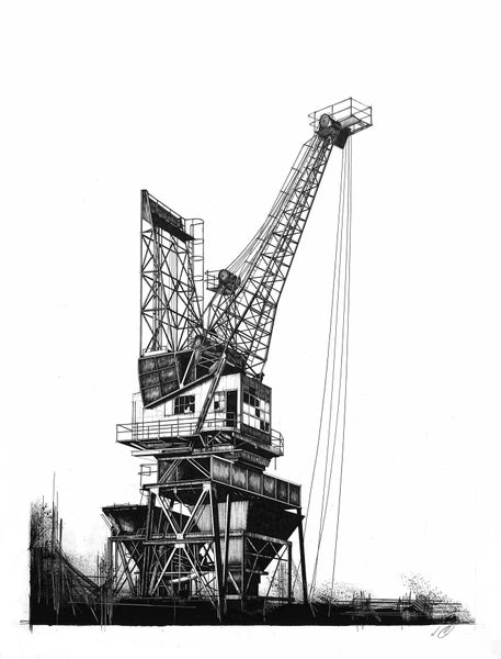 Image of Coal Crane (ORIGINAL)