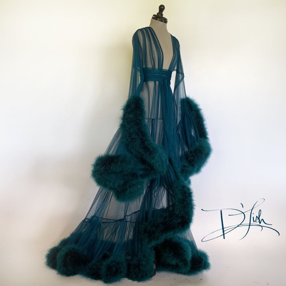 Image of Deep Teal Deluxe Cassandra