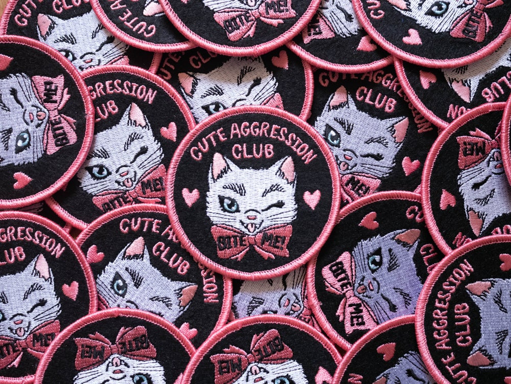 Image of Cute Aggression Club : 3 inch Patch