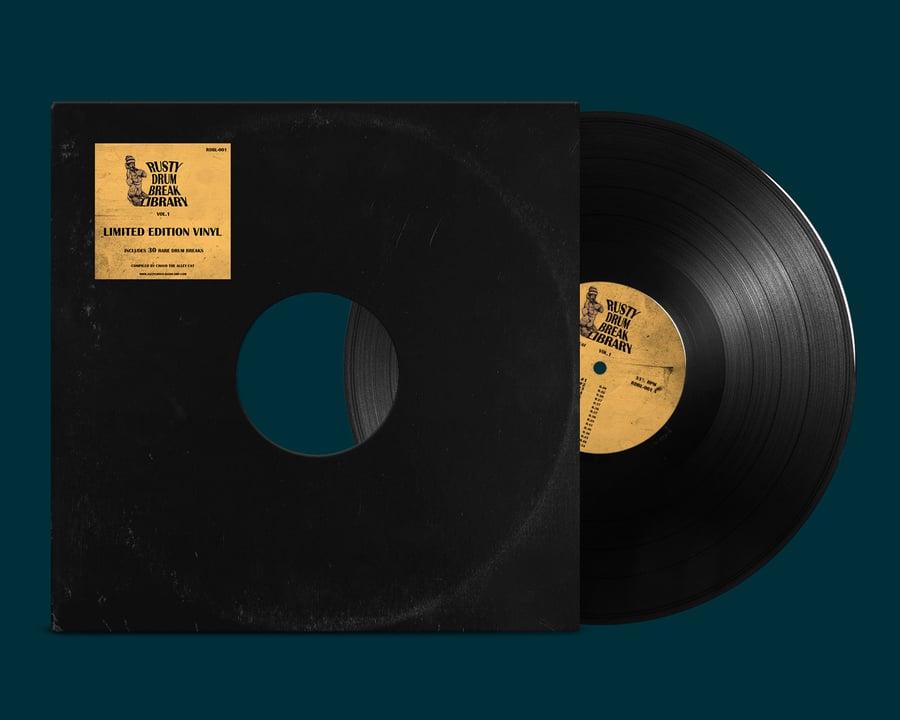 "Image of Rusty Drum Break Library vol. 1  (12"" Vinyl)"