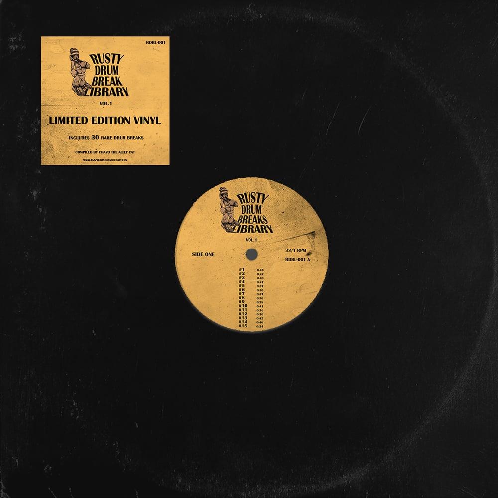 "Rusty Drum Break Library vol. 1 (12"" Vinyl)"