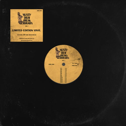 "Image of Rusty Drum Break Library vol. 1  (12"" Vinyl)"