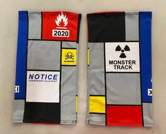 Image of Monster Track 21 (2020) neck gaiter