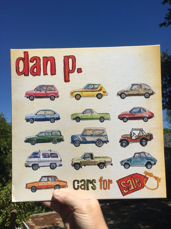 "Image of Cars For Sale 12"" Vinyl LP by Dan P"