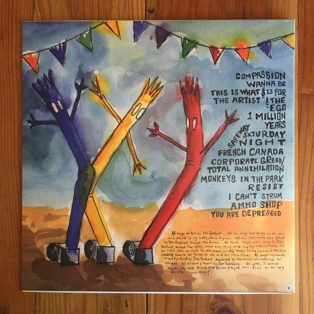 "Image of Cars For Sale 12"" Vinyl LP by Dan P"