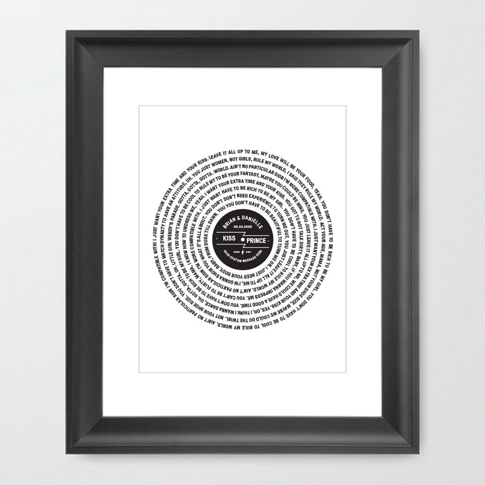 Image of Vinyl + Lyrics