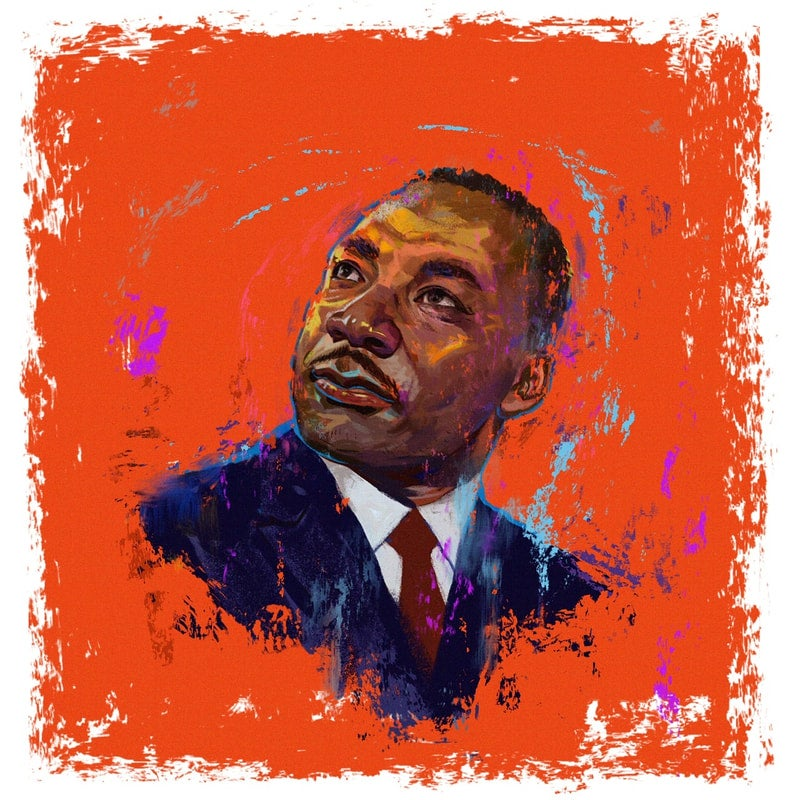 Image of MLK Print Timed Edition - George Floyd