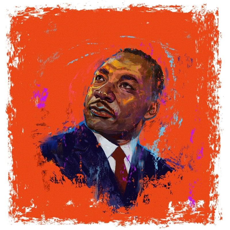 Image of MLK Print Timed Edition - George Floyd
