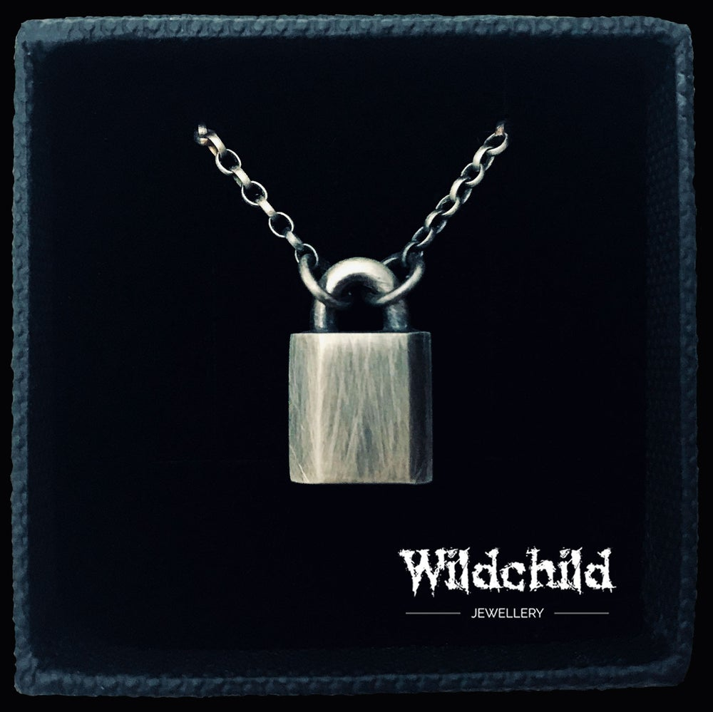 Image of Padlock Necklace