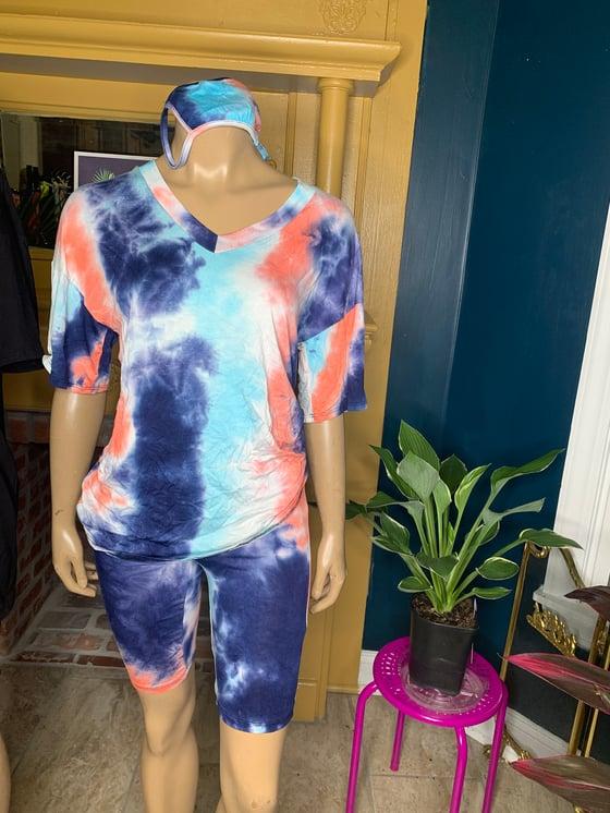 Image of Tye dye set 3pc