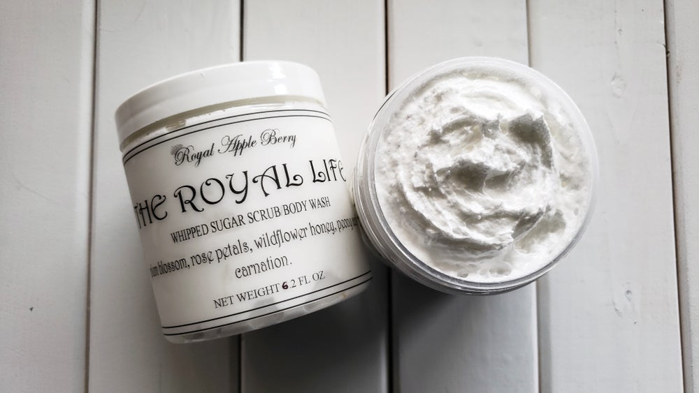 Image of THE ROYAL LIFE WHIPPED SUGAR SCRUB BODY WASH