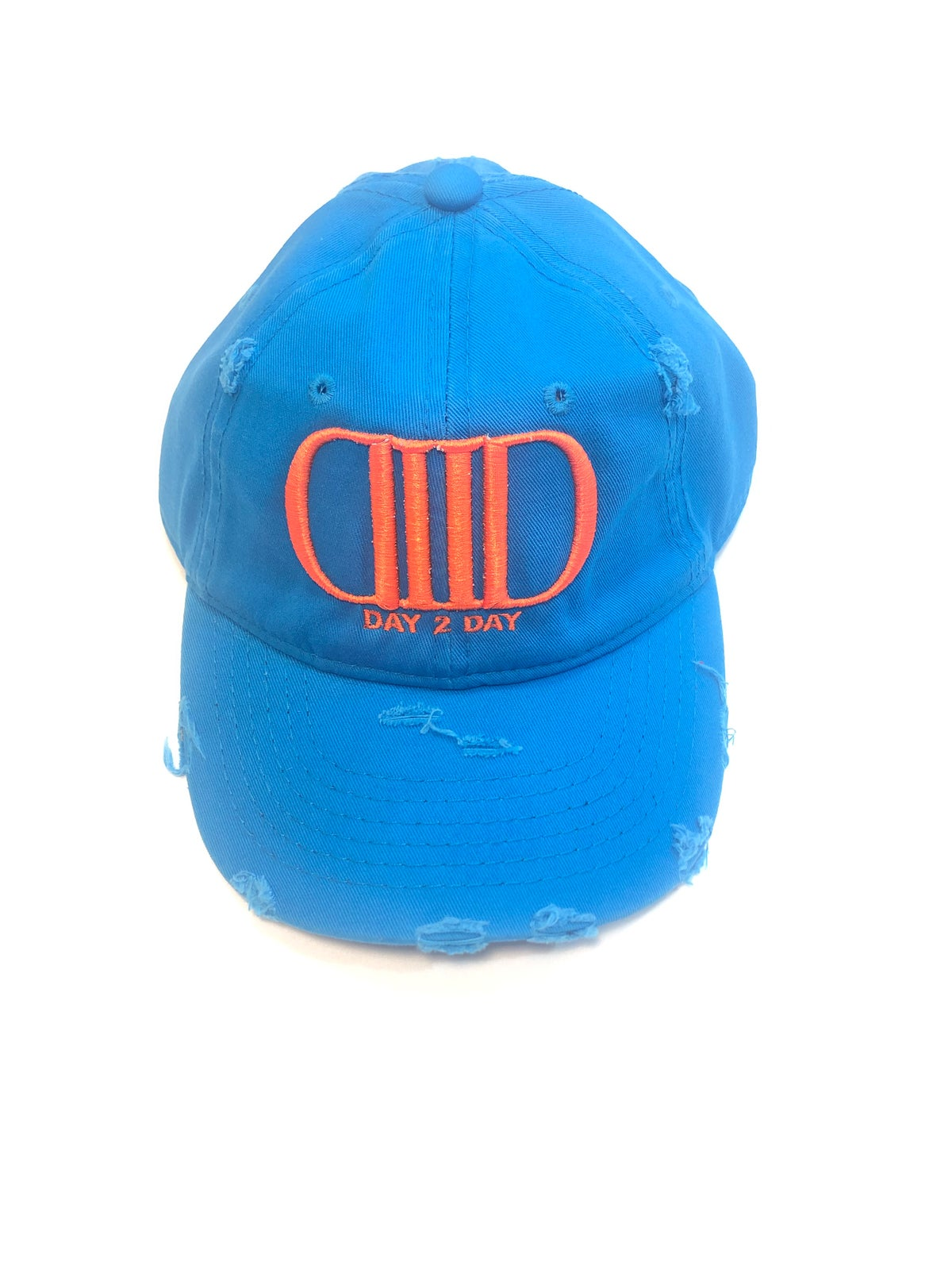 Racer Blue/Orange Dad Hat