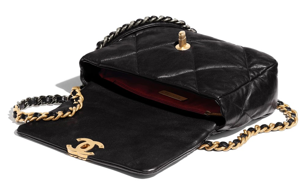 Image of Chanel 19 Small Flap Bag