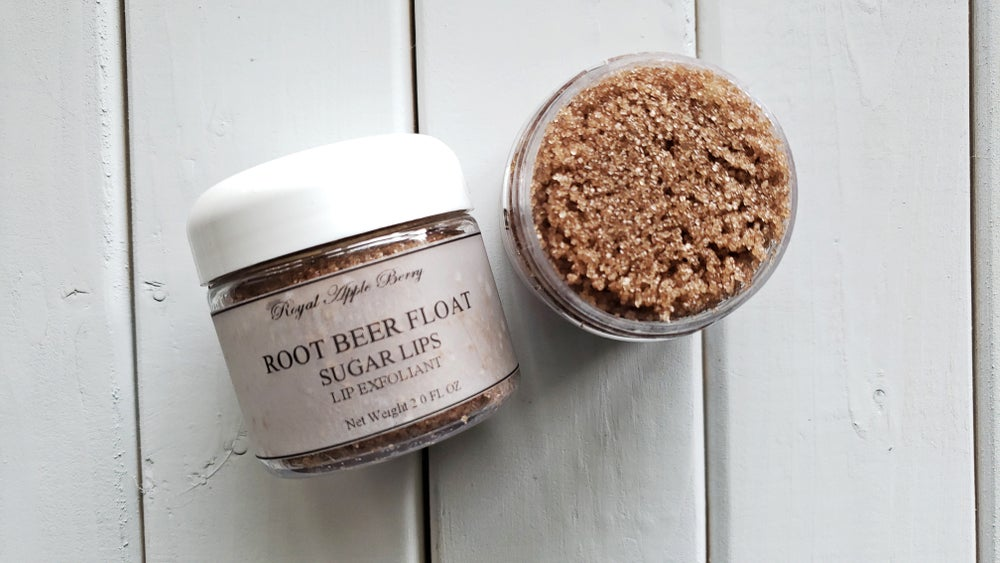 Image of ROOT BEER FLOAT SUGAR LIPS LIP EXFOLIANT