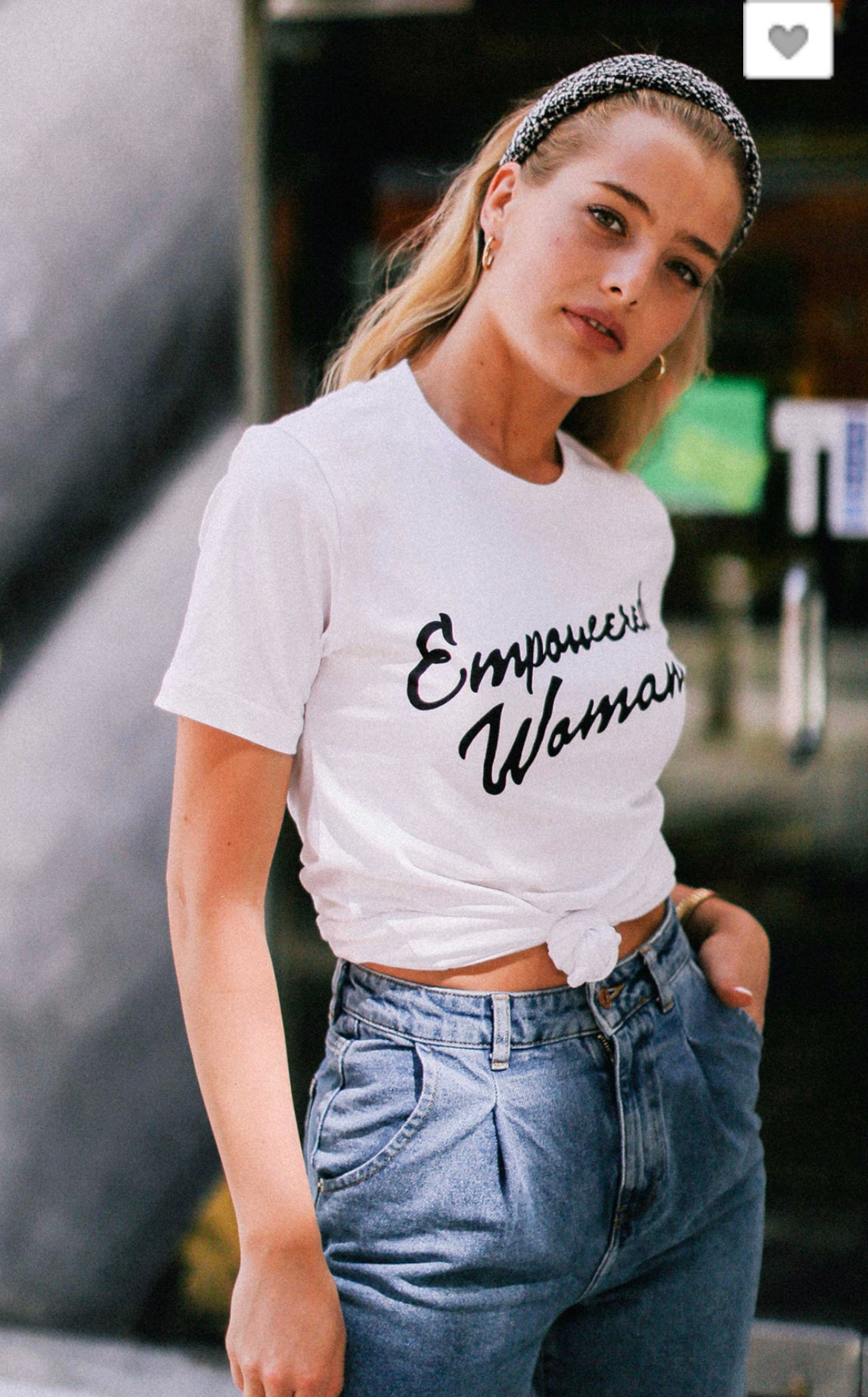 Image of EMPOWERED WOMAN GRAPHIC TEE