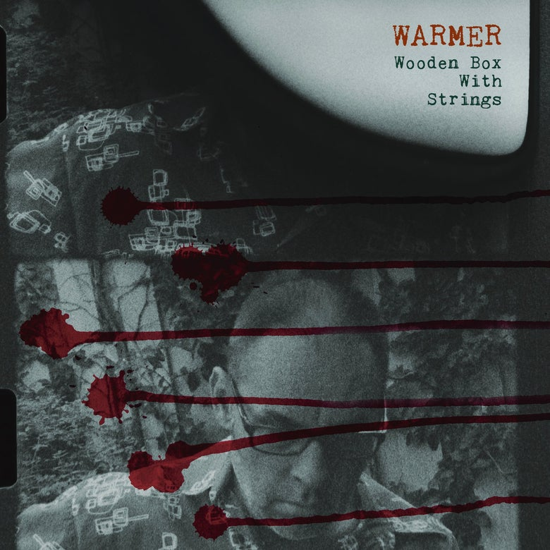 "Image of WARMER :: Wooden Box With Strings (12"" LP)"