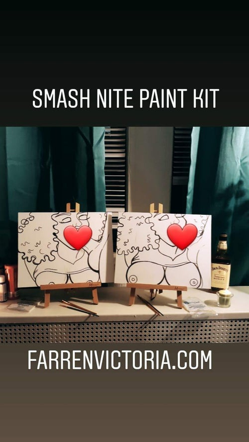 Image of DIY Erotic Paint kit