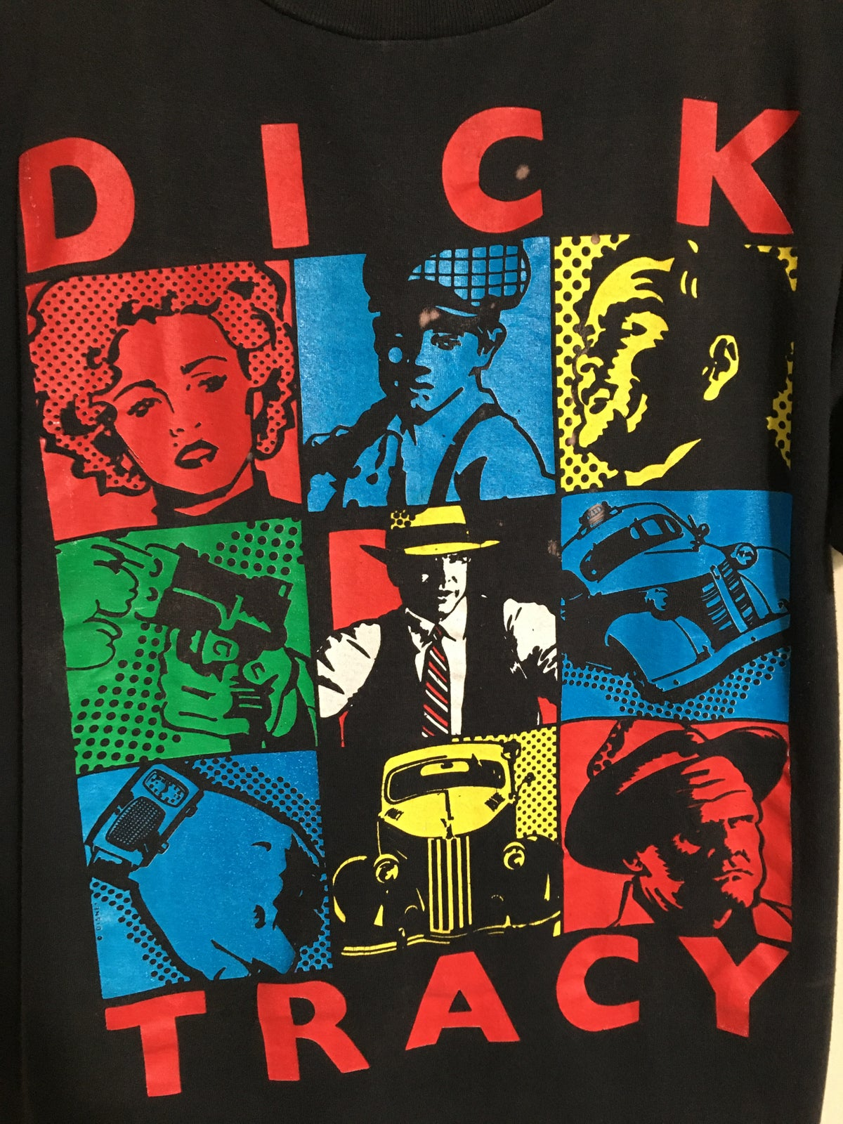 90's Dick Tracy Cast Tee