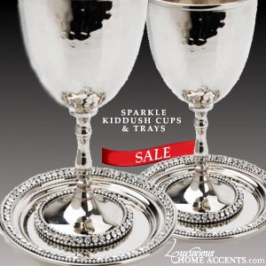 Image of Sparkle Kiddush Cup & Tray