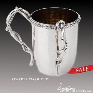 Image of Sparkle Judaica Wash Cup