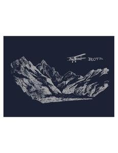 Image of Navy Biplane T-shirt