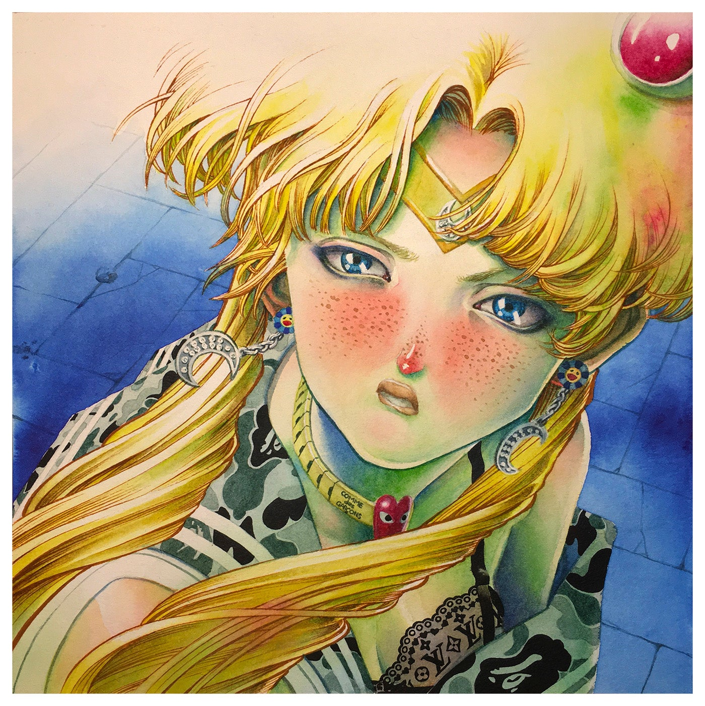 Sailor Moon (fineart print)