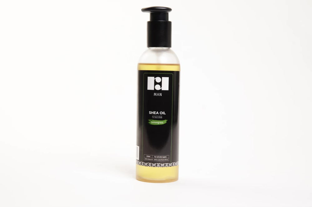 Image of Men's Lemongrass Shea Oil
