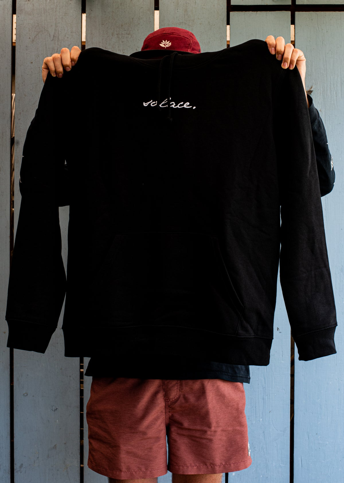 """Image of Hoodie """"solace. logo"""""""
