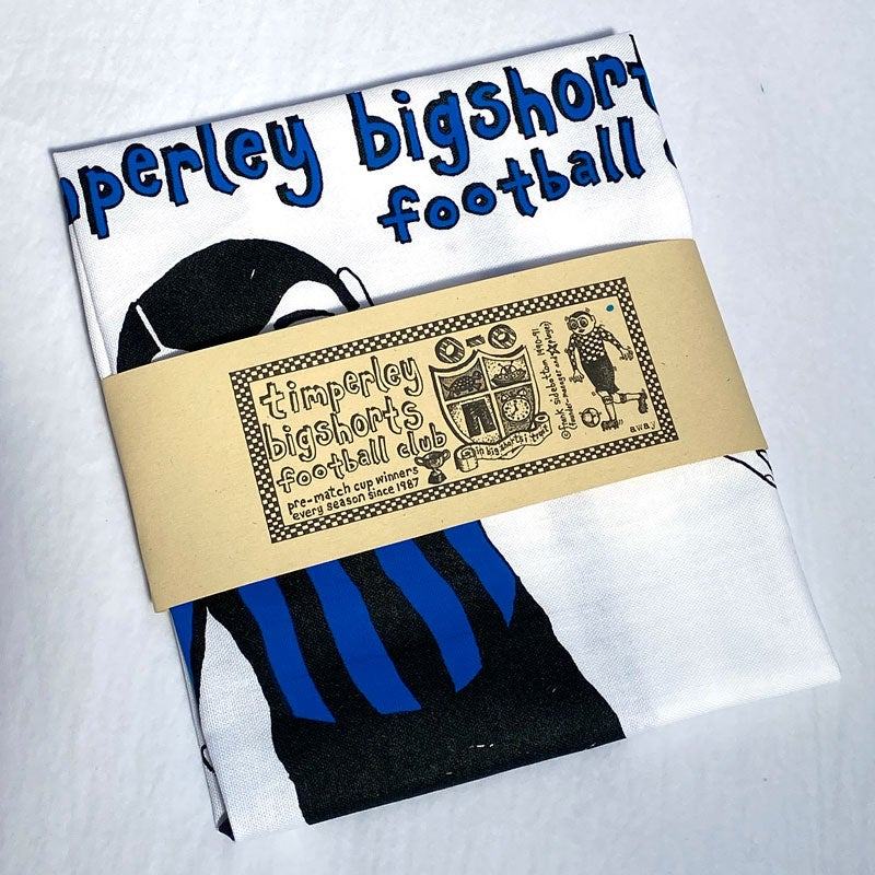 Image of Frank Sidebottom's Timperley Bigshorts Football Club Teatowel