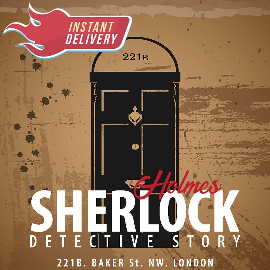 Image of Sherlock Holmes - Online Escape Room