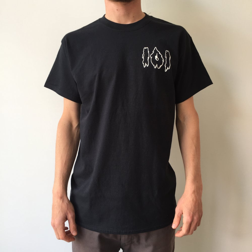 Image of 101 Logo T-shirt (Black)