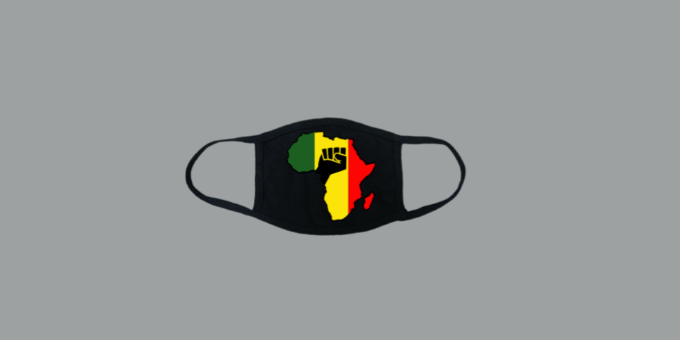Image of  African Pride fashion mask